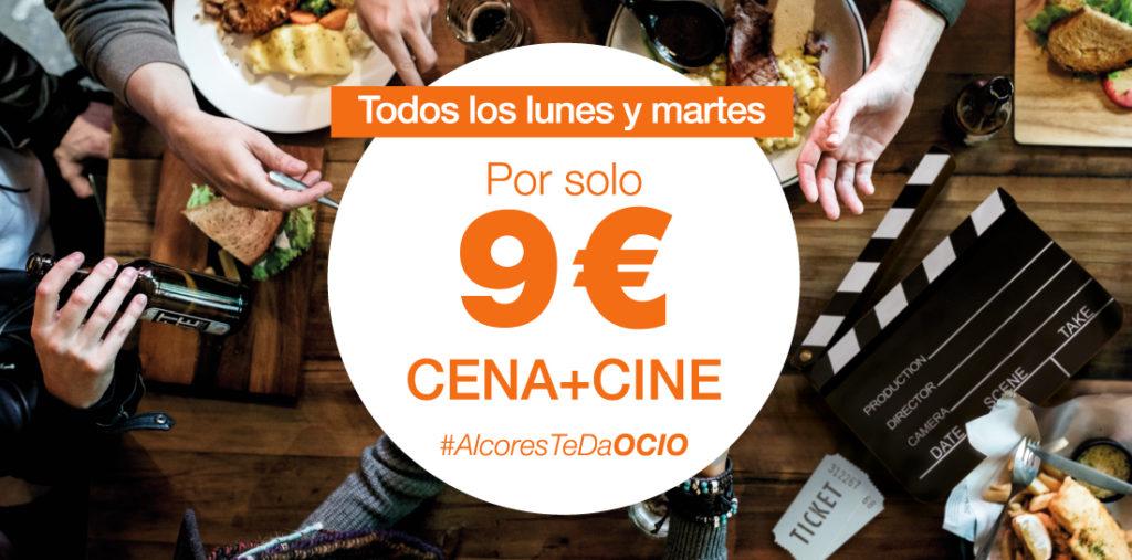 Promoción CINE + CENA de Los Alcores