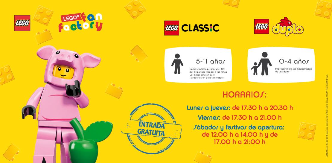 LEGO FAN FACTORY - CC Los Alcores