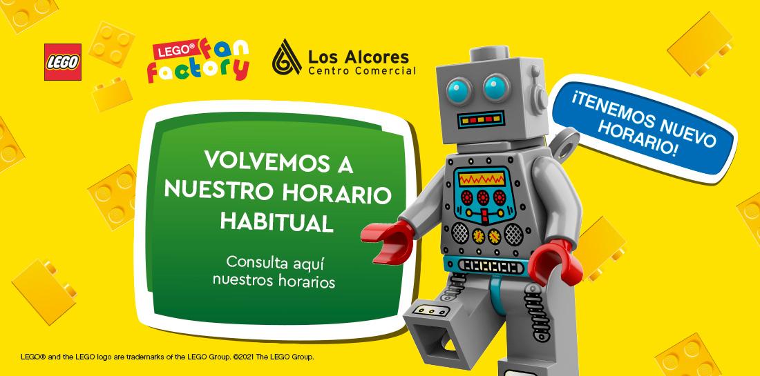 Horarios Lego Fan Factory