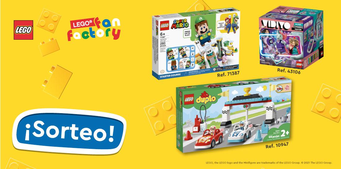 Sorteo Lego Septiembre