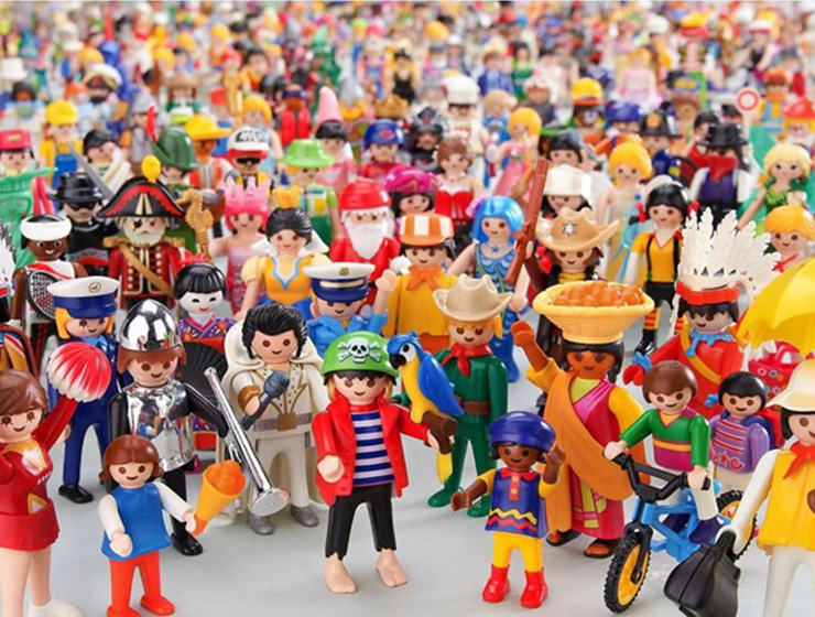 Exposición de Playmobil en Los Alcores