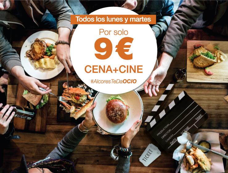 Promoción CINE + CENA en Los Alcores