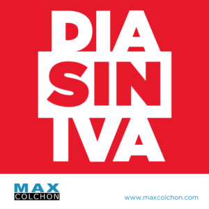Días sin IVA en Maxcolchon