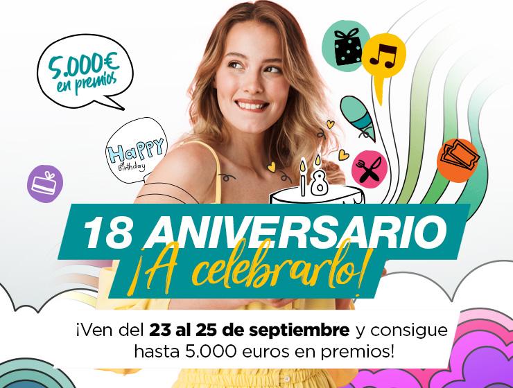 18 Aniversario CC Los Alcores